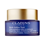 Clarins Multi-Active Nuit Revitalizing Night Cream Normal - Combination Skin 1.6oz / 50ml