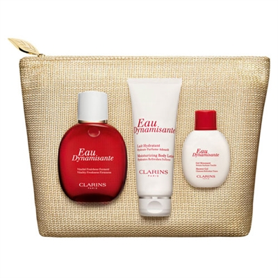 Clarins Wake-Up Treats 3 Piece Set