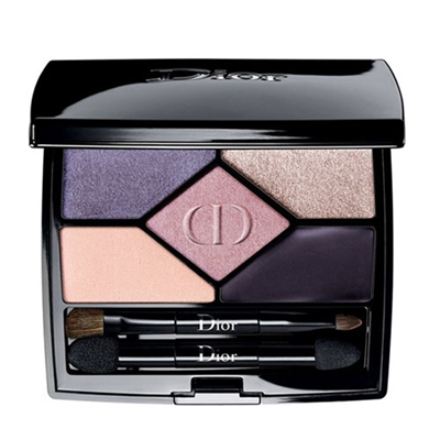 Christian Dior 5 Couleurs Designer All-In-One Professional Eye Palette 808 Purple Design 0.20oz / 5.7g