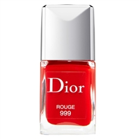 Christian Dior Vernis Gel Shine & Long Wear Nail Lacquer 999 Rouge 0.33oz / 10ml