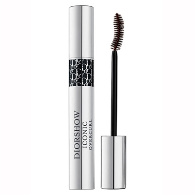 Christian Dior Diorshow Iconic Overcurl Spectacular Volume Curl Professional Mascara 694 Over Brown 0.33oz /10ml
