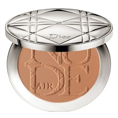 Christian Dior Nude Air Tan Powder With Kabuki Brush 002 Amber 0.35oz / 10g