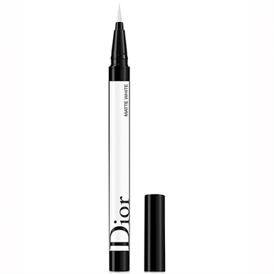 Christian Dior Diorshow On Stage Liner Waterproof 001 Matte White 0.01oz / 0.55ml