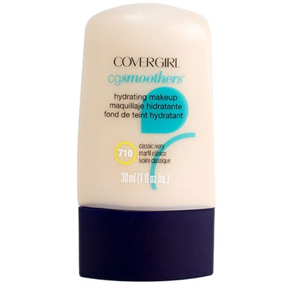Covergirl CG Smoothers Hydrating Makeup 710 Classic Ivory 1.0oz / 30ml
