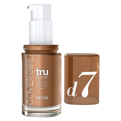 Covergirl TruBlend Liquid Makeup D7 Soft Sable 1oz / 30ml