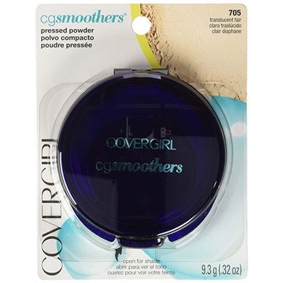 Covergirl CG Smoothers Pressed Powder 705 Translucent Fair 0.32oz / 9.3g