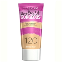 Covergirl Ready Set Gorgeous Oil Free Foundation 120 Nude Beige 1oz / 30ml