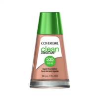 Covergirl Clean Sensitive Liquid Foundation 535 Medium Light 1oz / 30ml