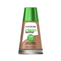Covergirl Clean Sensitive Liquid Foundation 540 Natural Beige 1oz / 30ml