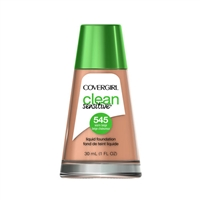 Covergirl Clean Sensitive Liquid Foundation 545 Warm Beige 1oz / 30ml