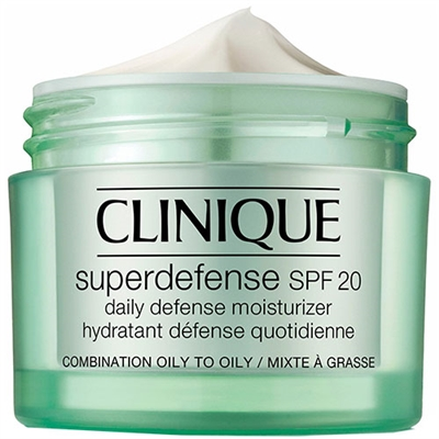 Clinique Superdefense Daily Defense Moisturizer SPF 20 Combination Oily-Oily Skin 1.7oz / 50ml