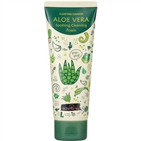 Skinpastel Aloe Vera Soothing Cleansing Foam 5.29oz / 150g