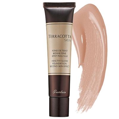 Guerlain Terracotta Skin Healthy Glow Foundation 1.0 oz   30ml Blondes 01 48ebebeedf