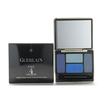 Guerlain Long Lasting Eyeshadows Captivating 4 Colors 02 Les Bleus 7.2g / 0.25 oz