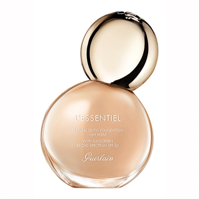 Guerlain L'Essentiel Natural Glow Foundation SPF20 02C Light Cool 1oz / 30ml