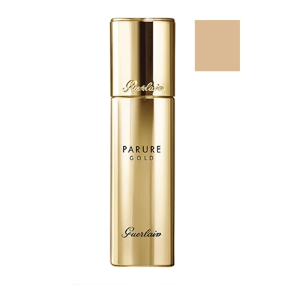 Guerlain Parure Gold Radiance Foundation SPF30 01 Pale Beige 1oz / 30ml