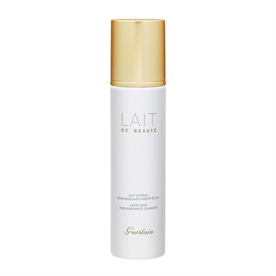 Guerlain Lait De Beaute Satin Milk Pure Radiance Cleanser 6.7oz / 200ml