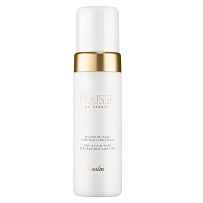 Guerlain Mousse De Beaute Gentle Foam Wash Pure Radiance Cleanser 5.0oz / 150ml