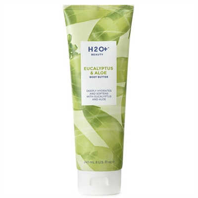 H2O Plus Eucalyptus & Aloe Body Butter 8oz / 240ml