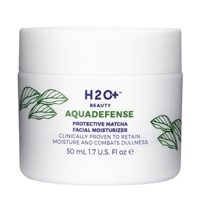 H2O Plus AquaDefense Protective Matcha Facial Moisturizer 1.7oz / 50ml