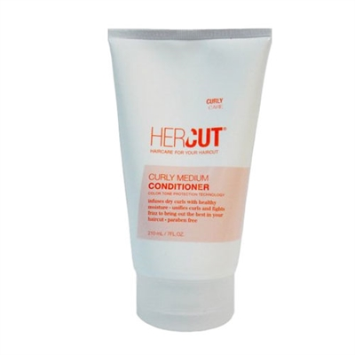 Hercut Curly Medium Conditioner Color Tone Protection Technology 7.0 oz / 210ml