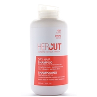 Hercut Dry Hair Shampoo Sulfate Free Color Safe Technology 10.0 oz / 300ml