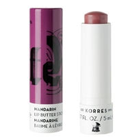 Korres Mandarin Lip Butter Stick Purple 0.17oz / 5ml
