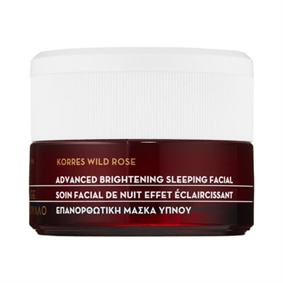 Korres Wild Rose Advanced Brightening Sleeping Facial Mask