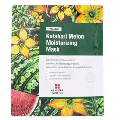 Leaders Insolution 7 Wonders Kalahari Melon Moisturizing Mask 10 Sheets