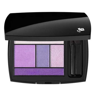Lancome Color Design Eye Brightening All In One 5 Shadow & Liner Palette 300 Amethyst Glam 0.141oz / 4g