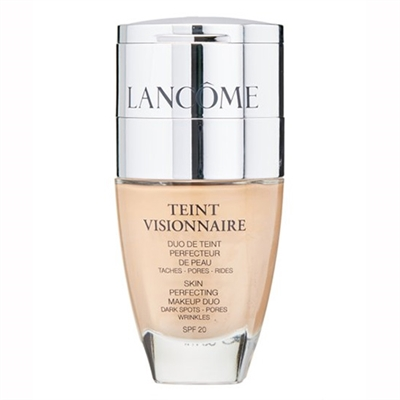 Lancome Teint Visionnaire Skin Perfecting Makeup Duo SPF 20 01 Beige Albatre 0.10oz / 2.8g
