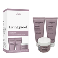 Living Proof Restore Repairing & Damage Reversing Travel 3pc Kit