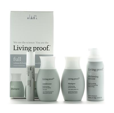 Living Proof Full Volume Amp Body Boosting Travel 3pc Kit