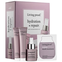 Living Proof Hydration + Repair Mini Transformation 4pc Kit