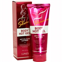 Lunes Body Hot Gel Anti Cellulite 6.76oz / 200ml