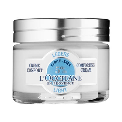 L'Occitane Shea Light Comforting Cream 1.7oz / 50ml