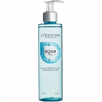 L'Occitane Aqua Reotier Water Gel Cleanser 6.5oz / 195ml