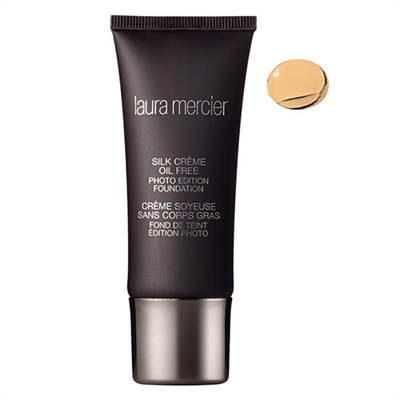 Laura Mercier Silk Creme Oil Free Photo Edition Foundation 1W1 Ivory 1oz / 30ml