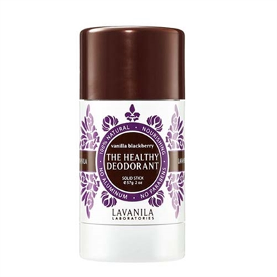 Lavanila The Healthy Deodorant Vanilla Blackberry Solid Stick 2oz / 57g