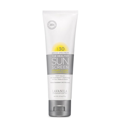 Lavanila The Healthy Sunscreen Sport Luxe Face & Body Cream SPF30 2.5oz / 70g