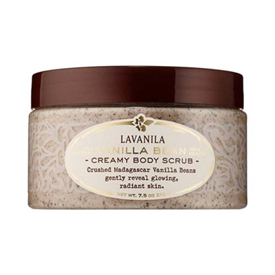 Lavanila All Natural Vanilla Bean Creamy Body Scrub 7.5oz / 212g