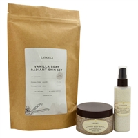 Lavanila Radiant Skin Set Vanilla Bean 2 Piece Set