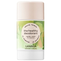 Lavanila The Healthy Deodorant Vanilla + Earth Solid Stick 2oz / 57g