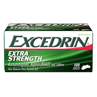 Excedrin Extra Strength Pain Reliever 100 Caplets