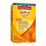 Nature Made SAM-e Complete 200 mg 60 Tablets