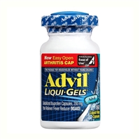 Advil Liqui-Gels Pain Reliever Fever Reducer 160 Count Liquid Filled Capsules