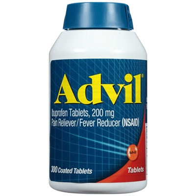 Advil Pain Reliever Fever Reducer 300 Count Coated Tablets