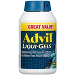 Advil Liqui-Gels Pain Reliever Fever Reducer 200 Count Liquid Filled Capsules