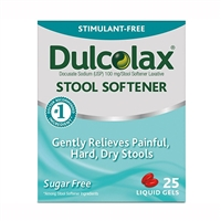 Dulcolax Stool Softener 25 Liquid Gels