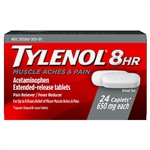 Tylenol Muscle Aches & Pain 8HR Pain Reliver 24 Caplets